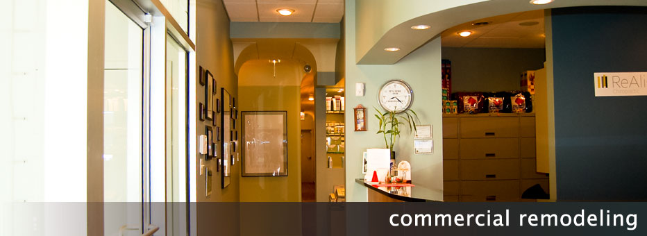 Commercial Office Reception Remodeling